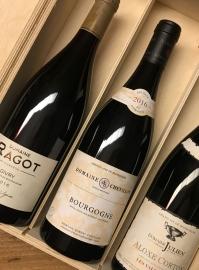 Confezione Regalo Borgogna Rossi 3 Bottiglie