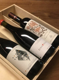 Confezione Regalo Vini Rossi Naturali 3 Bottiglie