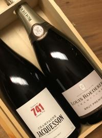 Confezione Regalo Champagne Maison 2 Bottiglie