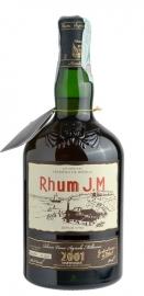 Rhum J. M.  Millesime 2001