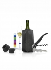 Set Accessori Vino Champagne Pulltex