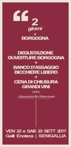 2 giorni di Borgogna - DEGUSTAZIONE CENA E BANCO ASSAGGIO