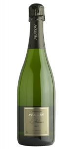 Champagne Brut L'Audacieuse Person