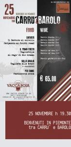 Degustazione verticale Brovia: benvenuti in Piemonte tra Carrù e Barolo