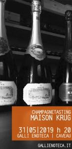 Maison Krug | Monografia Irripetibile di uno Champagne assoluto | Degustazione 31 maggio h 20