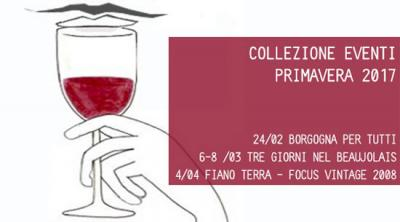 Calendario Eventi Primavera Galli Enoteca