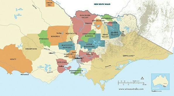 Victoria Australia vini