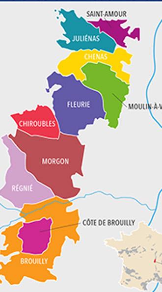 beaujolais vino mappa