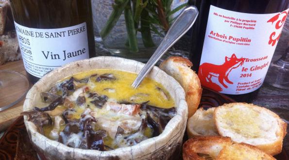 zuppa funghi Jura
