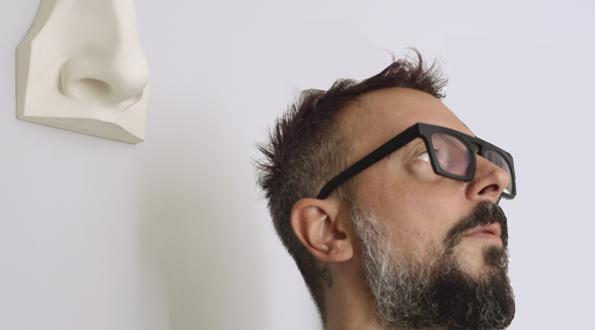 calco e naso Oscar Quagliarini