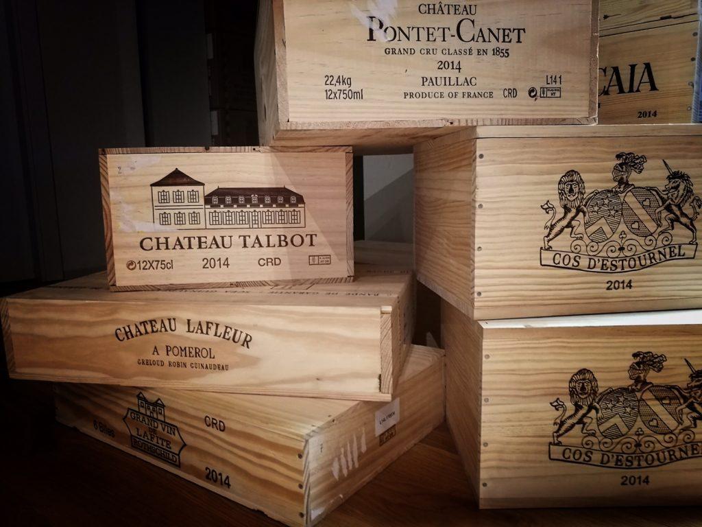 casse di Bordeaux Galli Enoteca