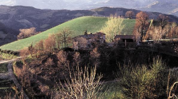 Modigliana paesaggio valli