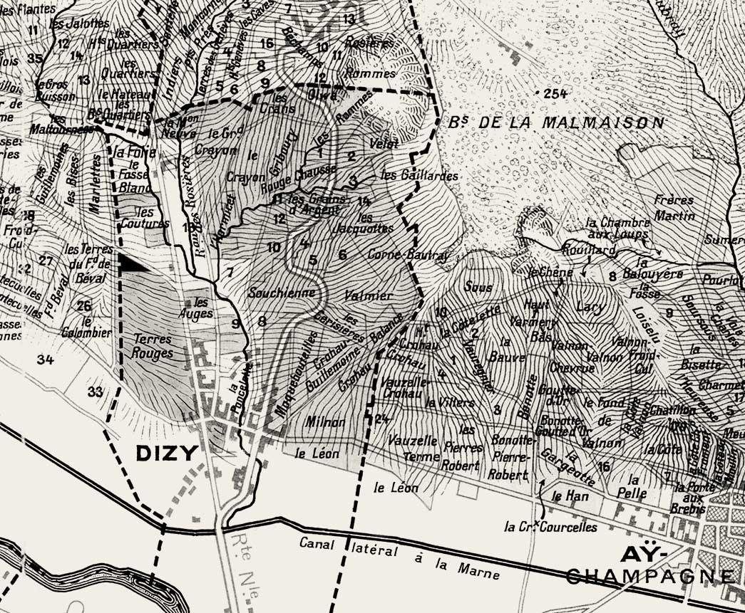 jacquesson map
