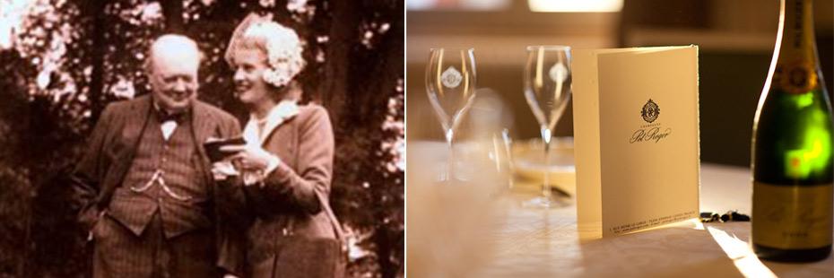 Winston churchill e lo champagne Pol Roger